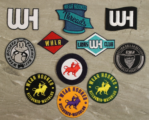 Custom embroidered patch screen printing silk screening for Custom embroidered t shirts no minimum